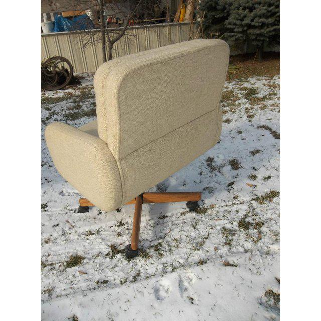 Scandiline Mid-Century Danish Modern Office Chair For Sale - Image 4 of 6