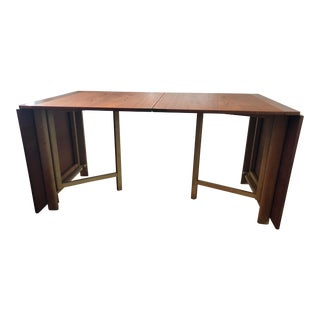 "Bruno Mathsson ""Maria"" Teak Dining Table For Sale"