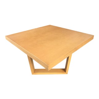 Paul Frankl by Brown Saltman Square Oak Coffee Table For Sale