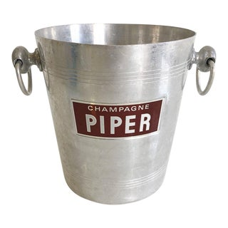 "French Champagne Bucket ""Champagne Piper"" For Sale"