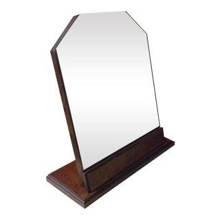 Art Deco Mahogany Vanity Mirror