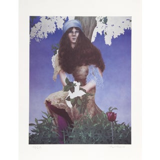 Robert Anderson, Wisteria, Lithograph For Sale