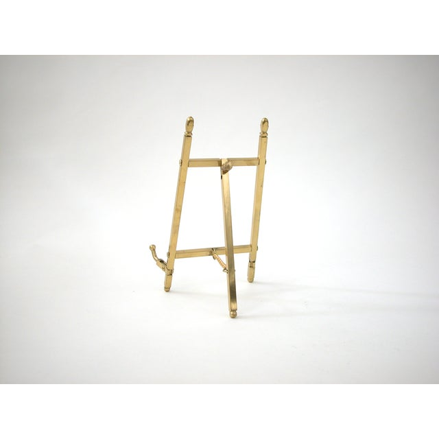 Folding Brass Easel- on Hold - Not for Sale - Image 5 of 6