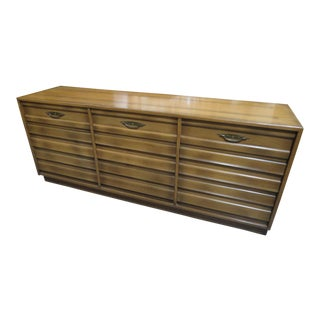 1960s Mid-Century Modern Merton Gershun American of Martinsville Louvered Dresser