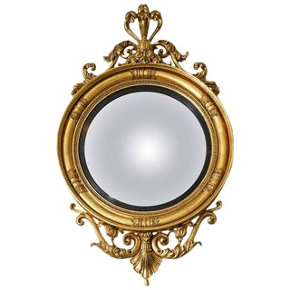 Regency convex mirror For Sale