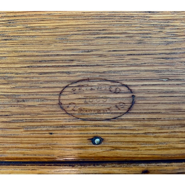 Wood 1889 American Puzzle Box For Sale - Image 7 of 12