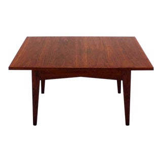 Square Jens Risom Design Coffee Table For Sale