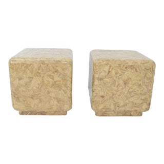 Maitland Smith Hollywood Regency Side Tables - a Pair For Sale