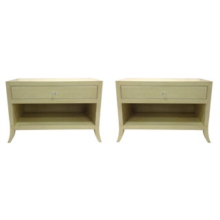 Custom Bedside Tables - a Pair For Sale