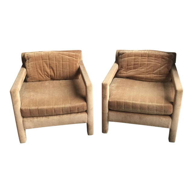 Henredon Upholstered Chairs - A Pair - Image 1 of 6