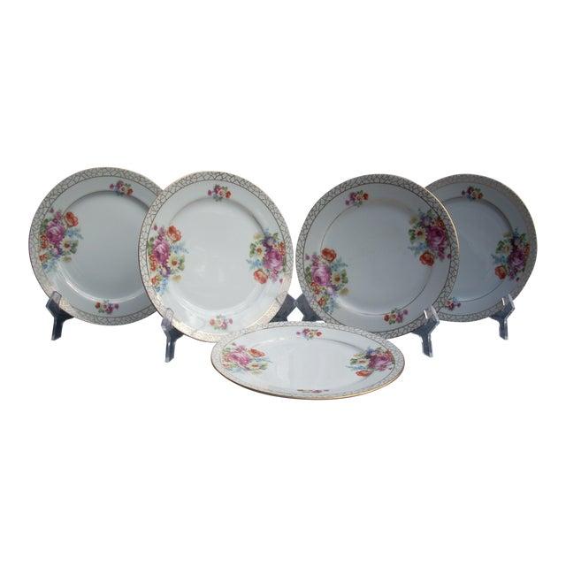 Japanese Dessert Plates - Set of 5 For Sale