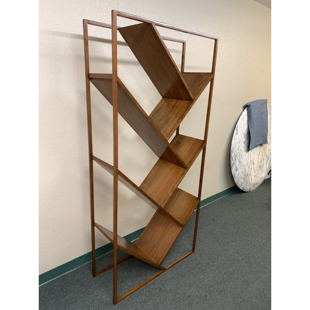 Design Plus Gallery presents the V Bookcase + Room Divider by CB2. Crafted in Teak, and designed by Miron Lior with...
