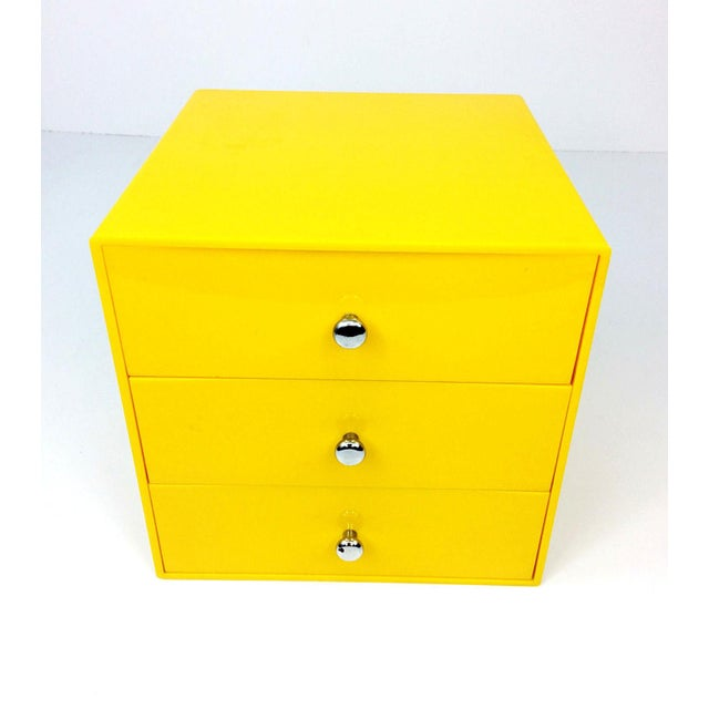 Mid Century Palaset Treston Oy Finland 3 Drawer Storage - Image 4 of 10