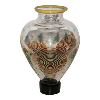 Salviati Post-Memphis Multicolored Glass Vase