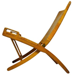 Hans Wegner Folding Chair For Sale