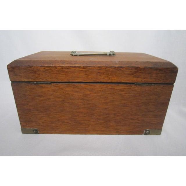 Walnut Humidor Box For Sale - Image 5 of 6