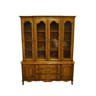 "Thomasville Furniture Tableau Collection 62"" China Cabinet For Sale"