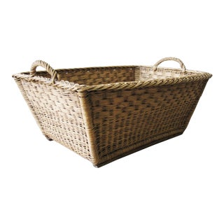 Vintage German Harvest Basket For Sale