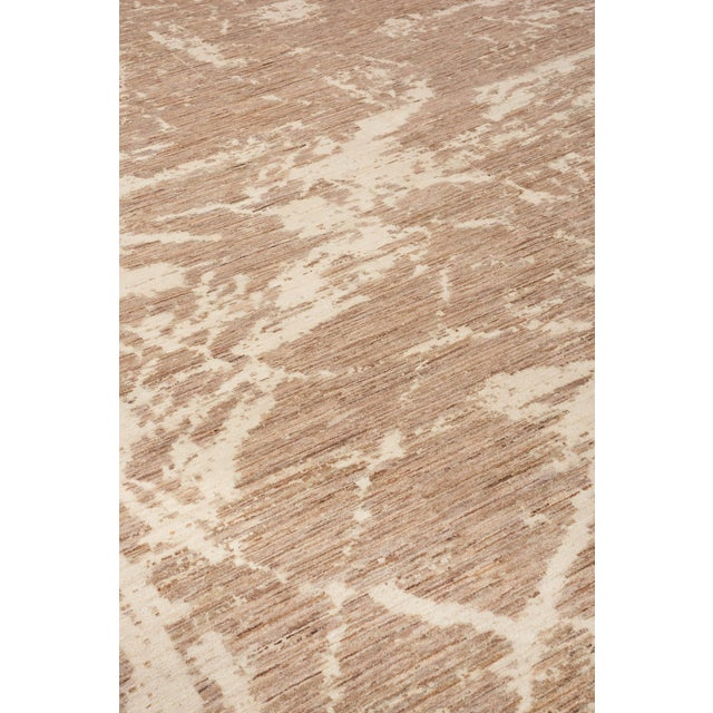 Contemporary Schumacher Miraj Area Rug in Hand-Knotted Wool Silk, Patterson Flynn Martin For Sale - Image 3 of 7
