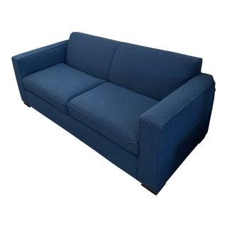 Room & Board Tatum Blue Custom Sofa For Sale