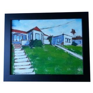 Impressionist Painting - Echo Park Bungalow