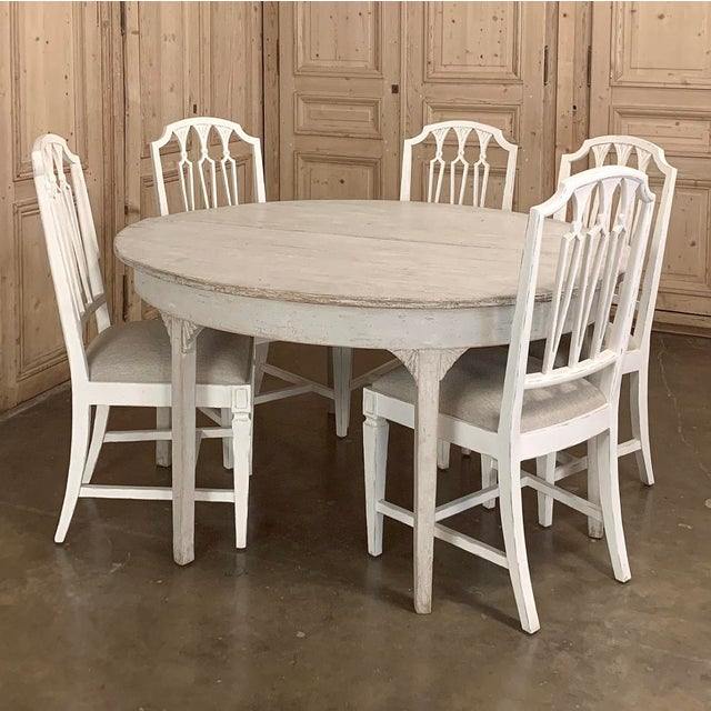 Banquet Table, Painted, Early 19th Century Swedish Gustavian Period For Sale - Image 9 of 13