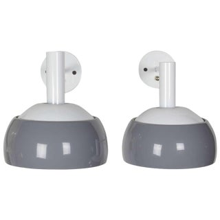 Pair of Lost City Arts Tilting Sconces For Sale