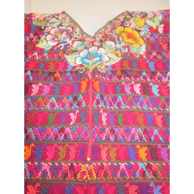 Guatemalan Fabric Boho Beach Textile - Image 5 of 10