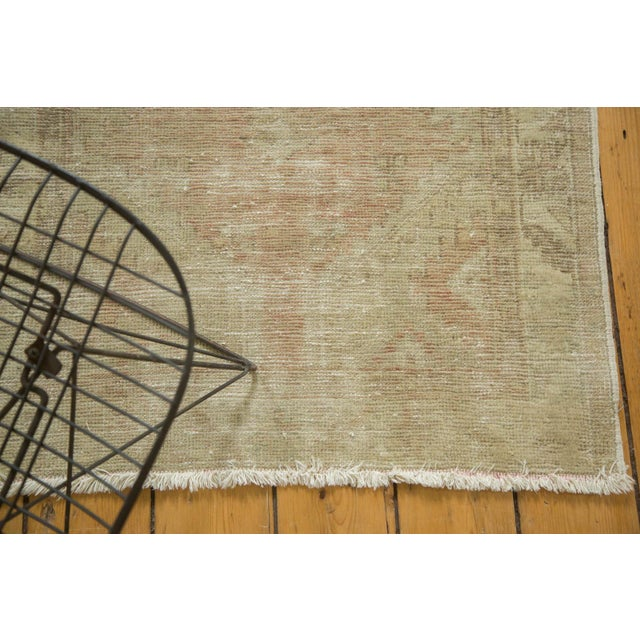 "Vintage Distressed Oushak Rug - 2'9"" x 5'3"" - Image 6 of 10"