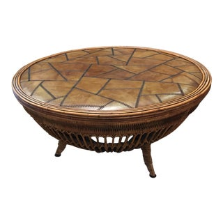 Vintage Drum Coffee Table