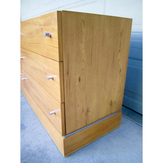 1970s Milo Baughman Thayer Coggin Maple Double Modular Dresser For Sale In San Francisco - Image 6 of 13