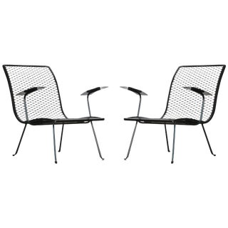 Pair of Outdoor Lounge Chairs by Karl Lightfoot Studio For Sale