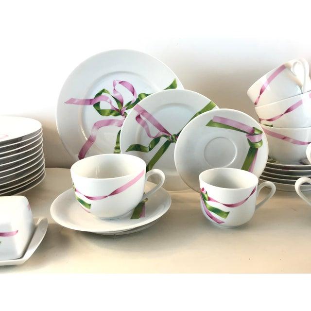 Ceramic Vintage Jacques Coeur Dinnerware-Set of 49 For Sale - Image 7 of 13