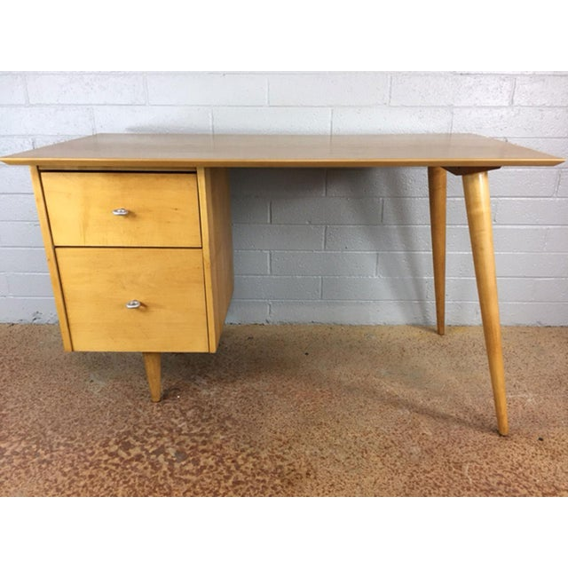 Mid-Century Modern Paul McCobb Planner Series Desk For Sale - Image 3 of 9
