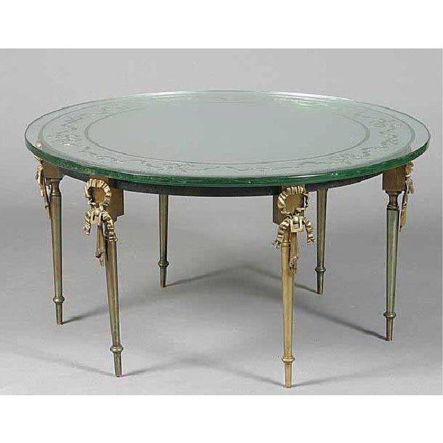 French Cocktail Table by Maison Jansen For Sale In New York - Image 6 of 6