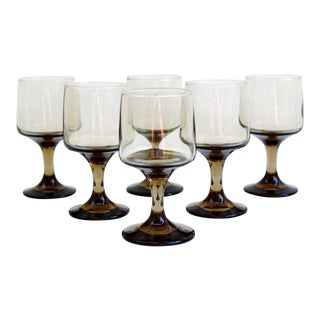 Libbey Glass Co. Wine Glasses - Set of 6 For Sale