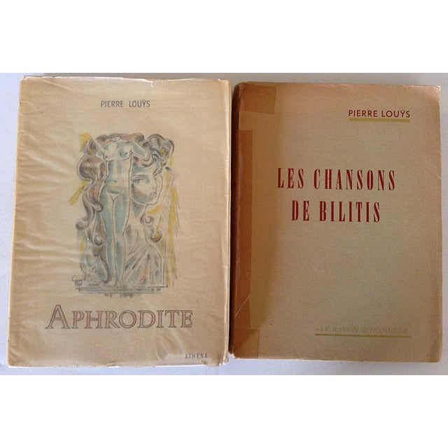 French Erotica Books by Pierre Louys - A Pair - Image 2 of 5