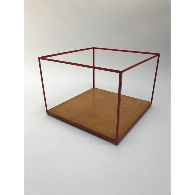 Contemporary Dunbar Steel Frame Cocktail Table For Sale - Image 3 of 11
