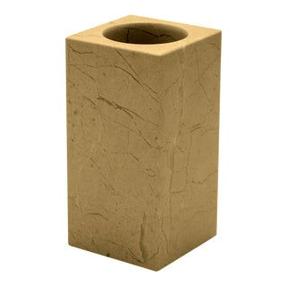 Tan Marble Tumbler For Sale