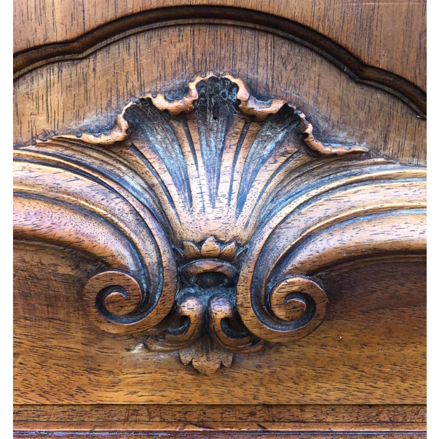 Haentges Fres of Paris Walnut Hutch For Sale In New York - Image 6 of 13