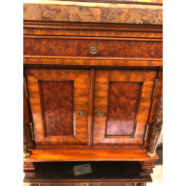 Vintage Neoclassical Credenza Tabletop Treasure Box For Sale - Image 9 of 12