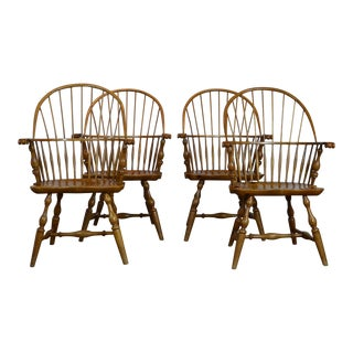 Rennick Furniture Windsor Chairs - Set of 4 For Sale