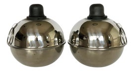 Image of Silver Outdoor Lanterns