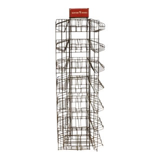 Bantam Books Display Metal Rack For Sale