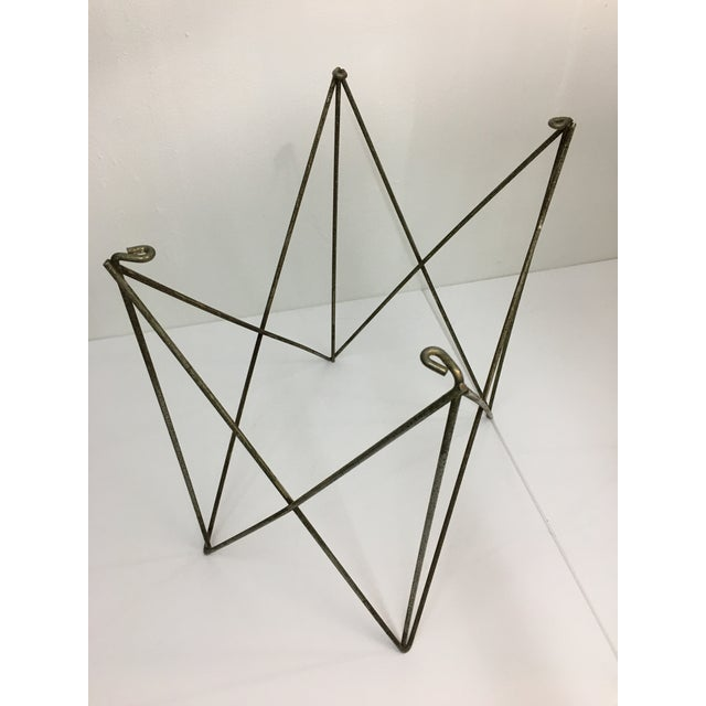 Mid-Century Modern Steel Wire Side Table Bases - a Pair For Sale In New York - Image 6 of 11