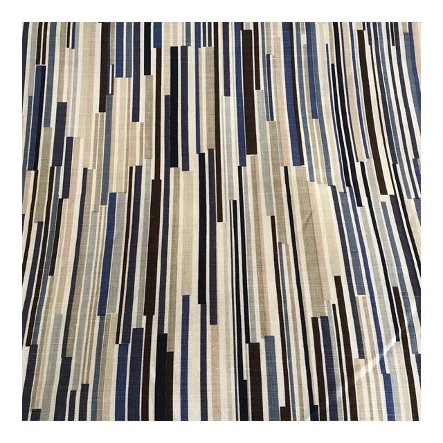 """Christopher Farr """"Scaffolding"""" Fabric - 4 Yards For Sale"""
