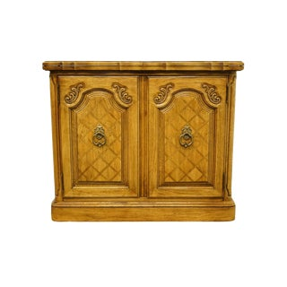 20th Century French Thomasville Furniture Camille Collection Flip-Top Serve /Buffet For Sale
