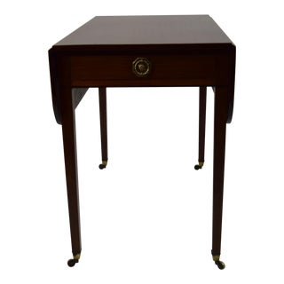 Early 1800's English Regency Pembroke Mahogany Table For Sale