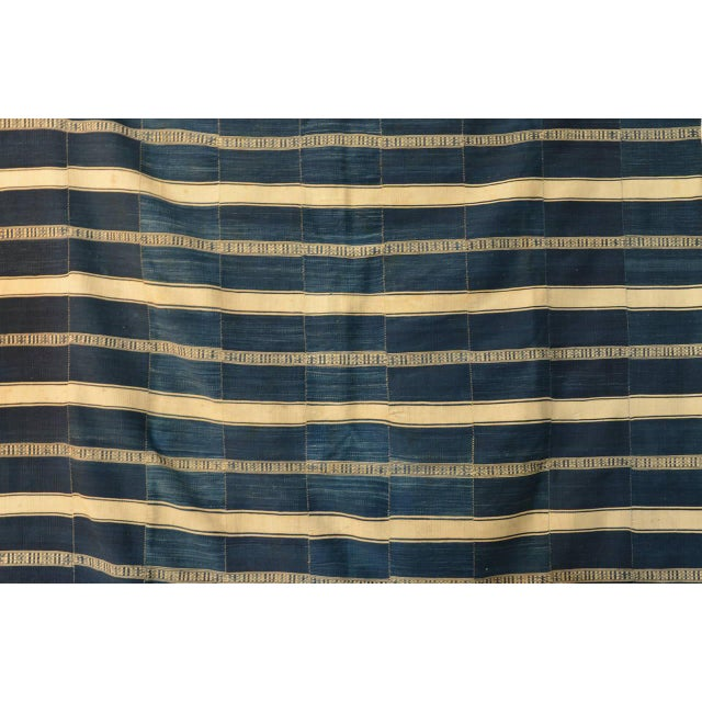 Museum Quality West African Indigo Textile For Sale In Los Angeles - Image 6 of 7