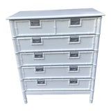 Image of Stanley Furniture Faux Bamboo Chest of Drawers For Sale
